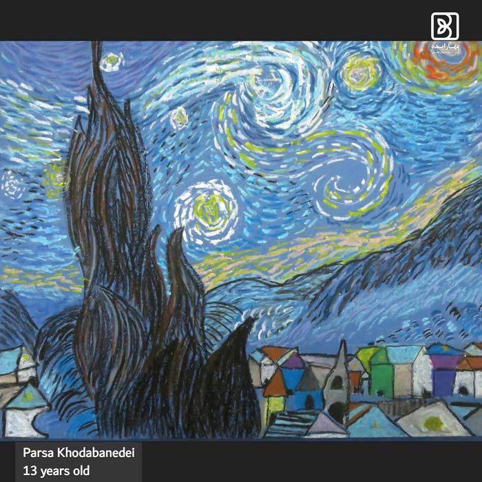 parsa-khodabandei-stary-night
